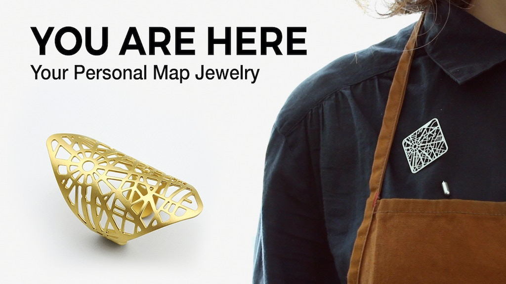 YOU ARE HERE: Your Personal Map Jewelry project video thumbnail