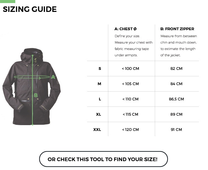 Sizes and fitting are designed for men