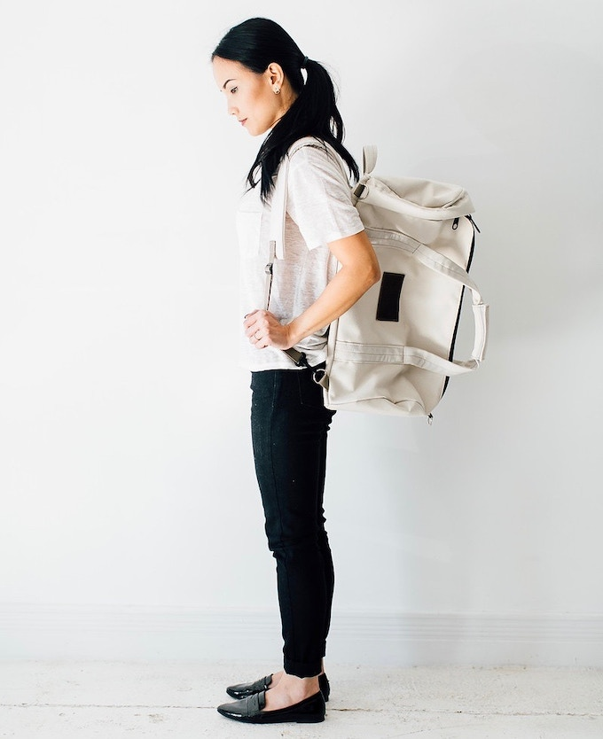 An all-in-one bag