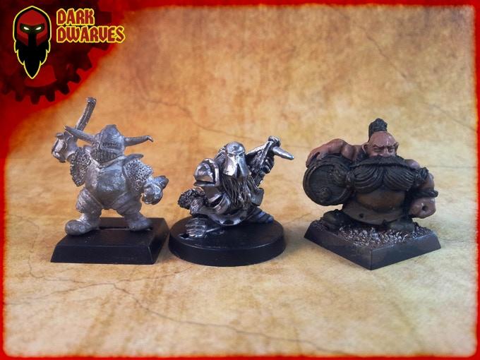 Size Comparison Dark Dwarves Crossbowman Centre