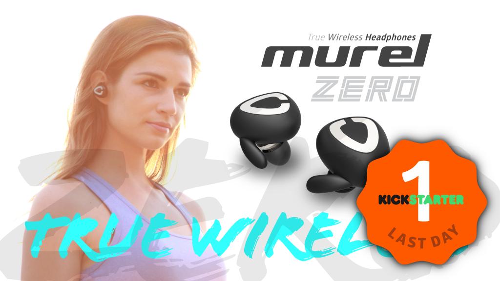 """Murel """"ZERO"""" (True Wireless Headphones) project video thumbnail"""