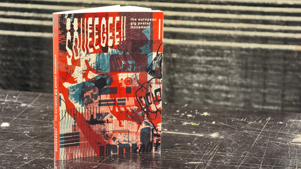 SQUEEGEE!! gig poster book #2 project video thumbnail