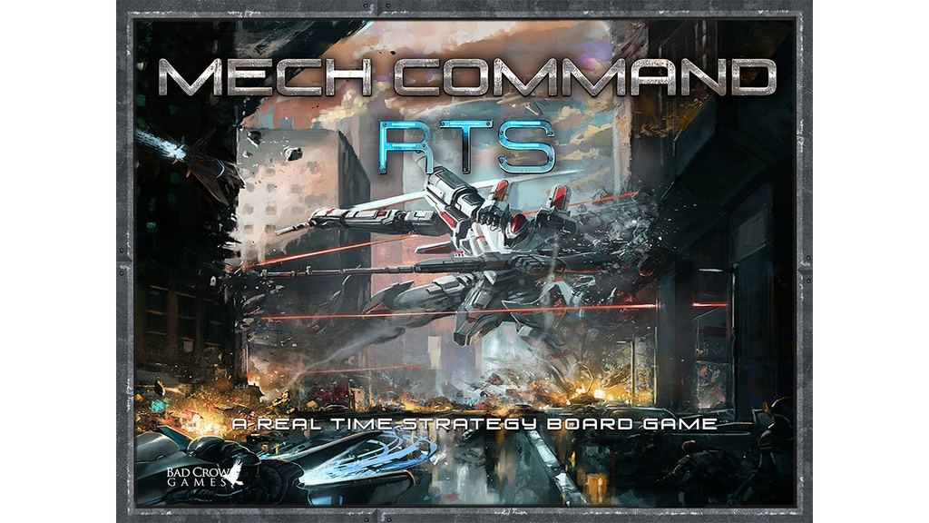 Mech Command RTS - A Real Time Strategy Board Game project video thumbnail