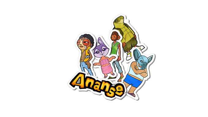 Ananse Storybook Sticker pack