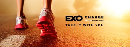 EXO CHARGE is the beginning of wearable power