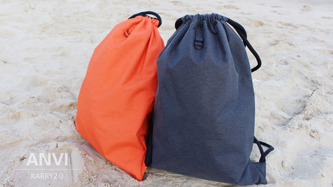 Karry2.0: Oxford faberic version color options: Orange and Grey