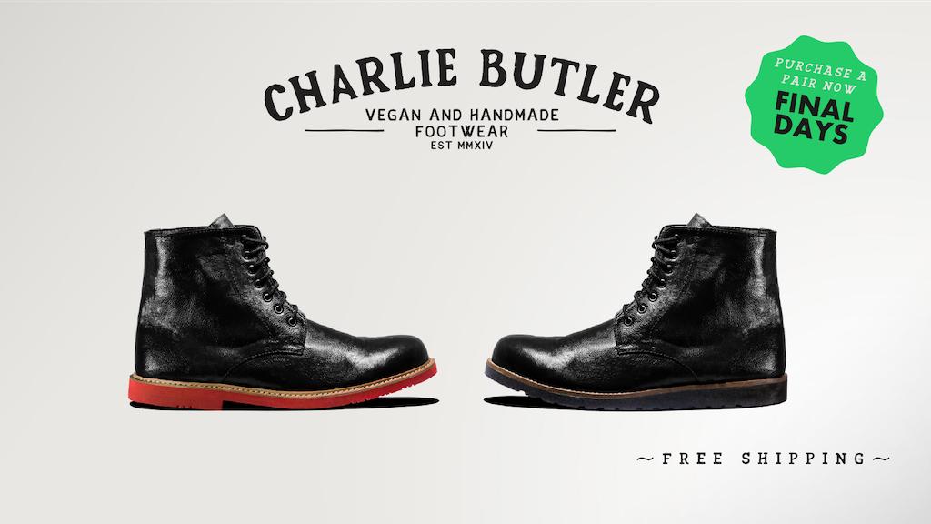 Charlie Butler: A beautiful handmade shoe for men & women project video thumbnail