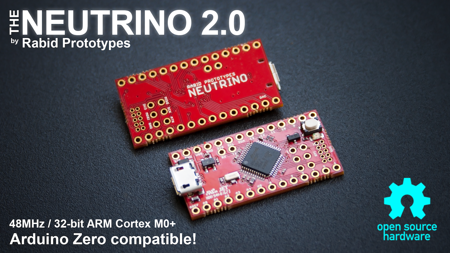 Neutrino 20 The Tiny 32 Bit Arduino Zero Compatible By Rabid Electric Circuit Board Processor Tshirts Featuring A 48mhz Arm Cortex M0 Is Fully