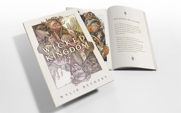 [ The Wicked Kingdom art book... ]