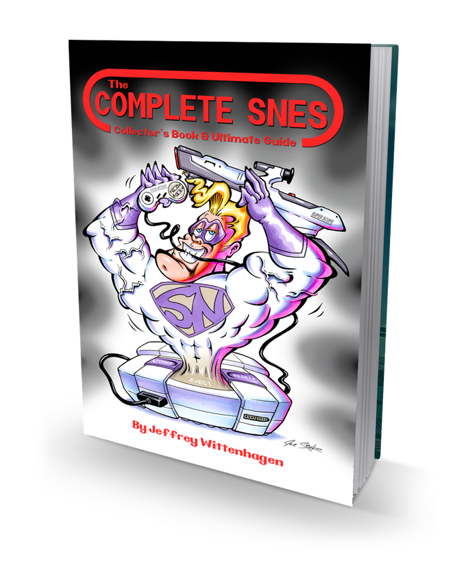 The Complete SNES is a is a 500+ Page Comprehensive Super Nintendo Collector's Book & Ultimate Guide to the SNES w/ US, PAL, Unreleased, Homebrew & More!