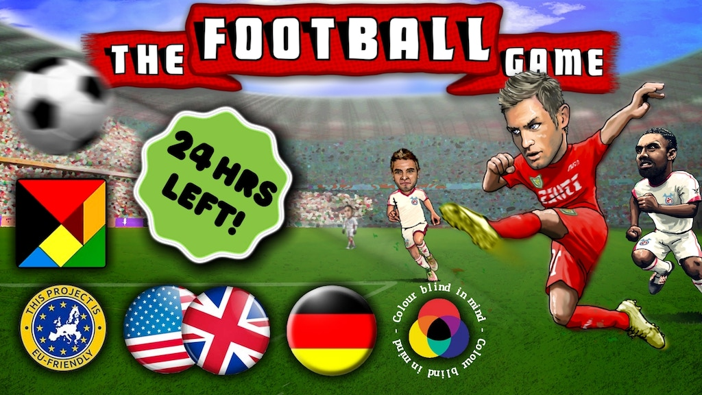 The Football Game. Das Fussball Spiel. Club Mgmt Board Game project video thumbnail