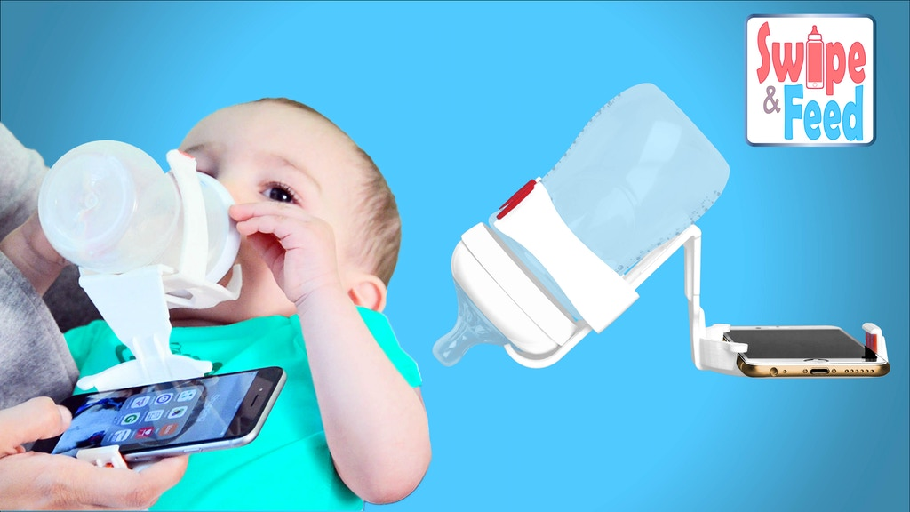 Swipe and Feed - Feed your baby while using your phone project video thumbnail