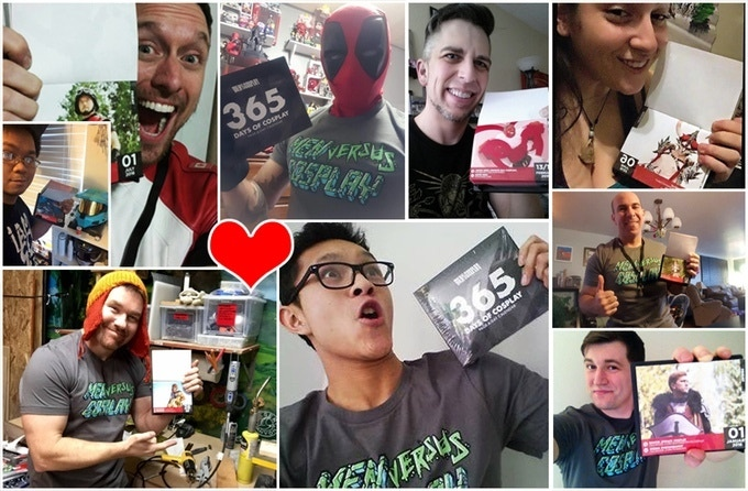 Our amazing backers and friends! <3 Can't do it without your support!