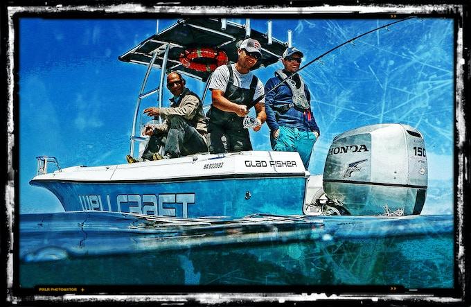 Gladfisher - bateau du tournage
