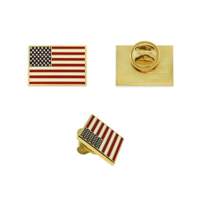 U.S.A. Flag Pin