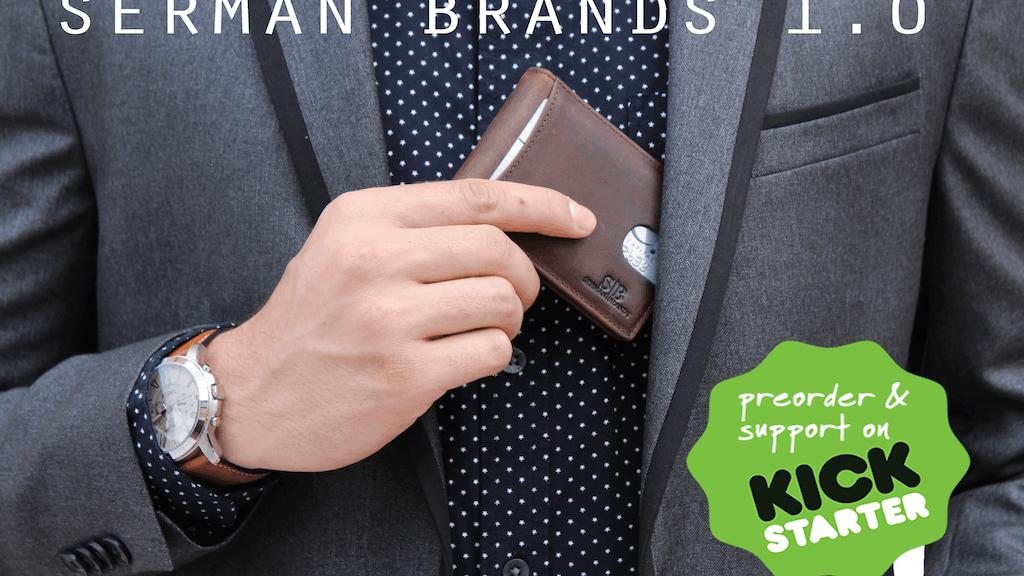 SERMAN BRANDS 1.0 - RFID Blocking Minimalist Wallet project video thumbnail