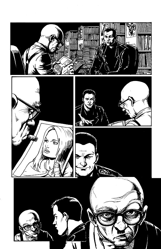 Darick Robertson Original Art Issue #40, Page 7 from The Boys