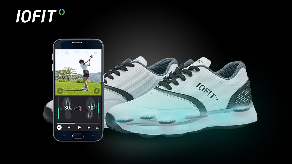 IOFIT: The First Smart Shoes To Improve Your Golf Game! project video thumbnail