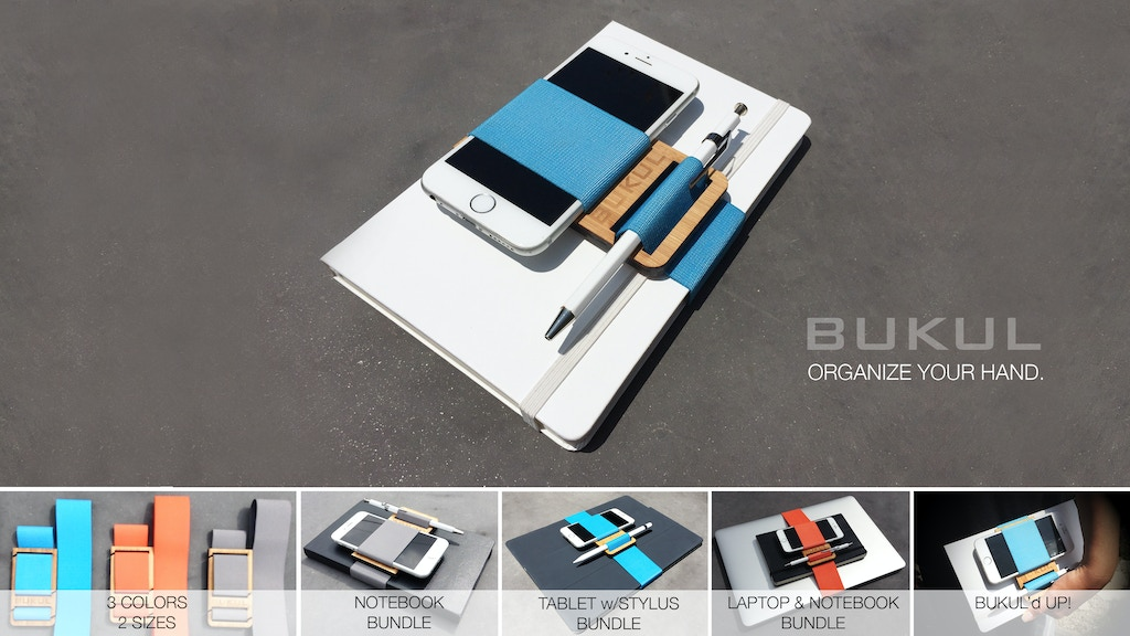 BUKUL | Organize your hand. project video thumbnail