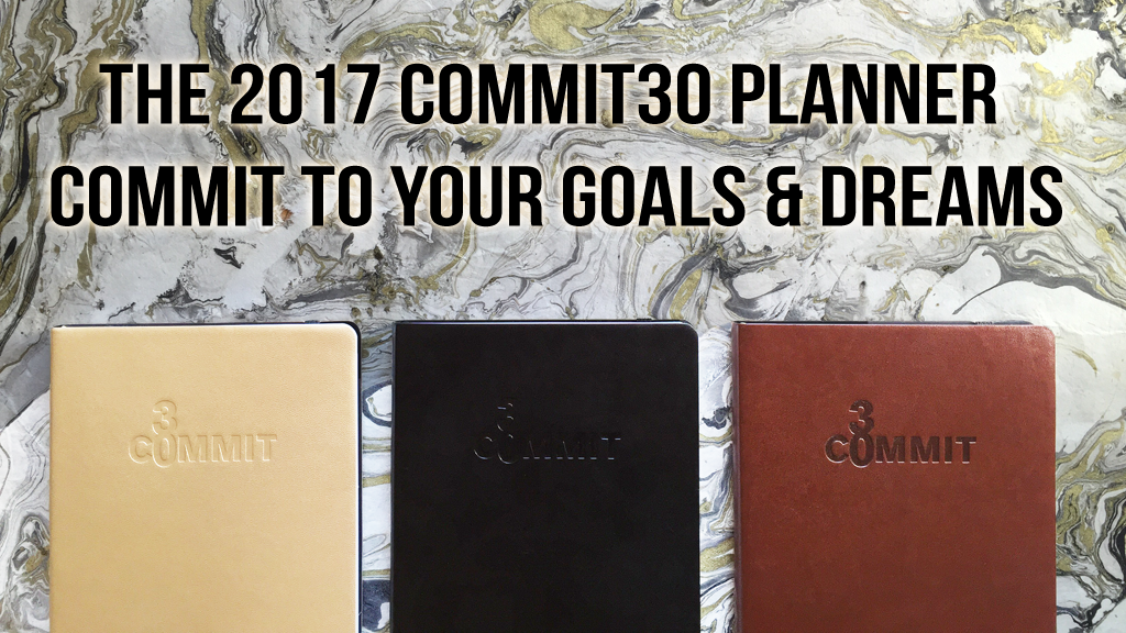 Commit30 Planner, Notebook & Journal - Commit to your GOALS! project video thumbnail
