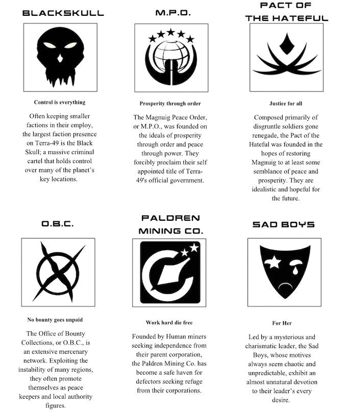 faction symbols are concept art