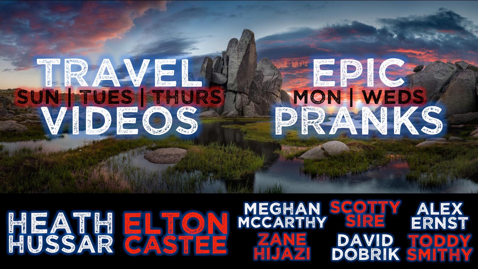 TFIL: Adventure, Adrenaline & Pranks! by Elton Castee