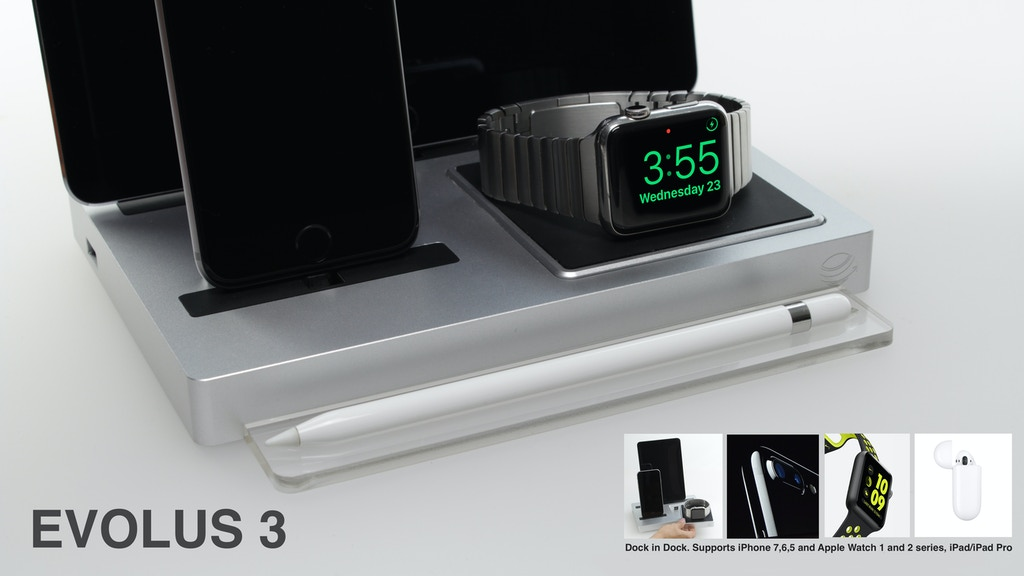 EVOLUS 3 - The most versatile and smart charging dock ever project video thumbnail