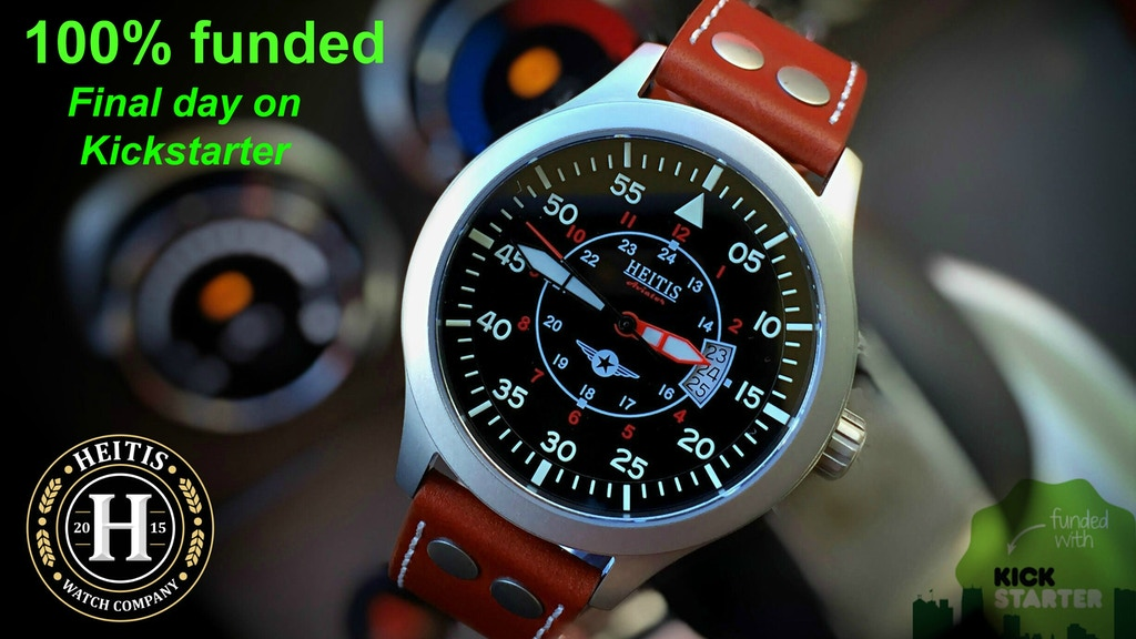 """Heitis Watch Project """"Quality Watches, Affordable Prices"""" project video thumbnail"""