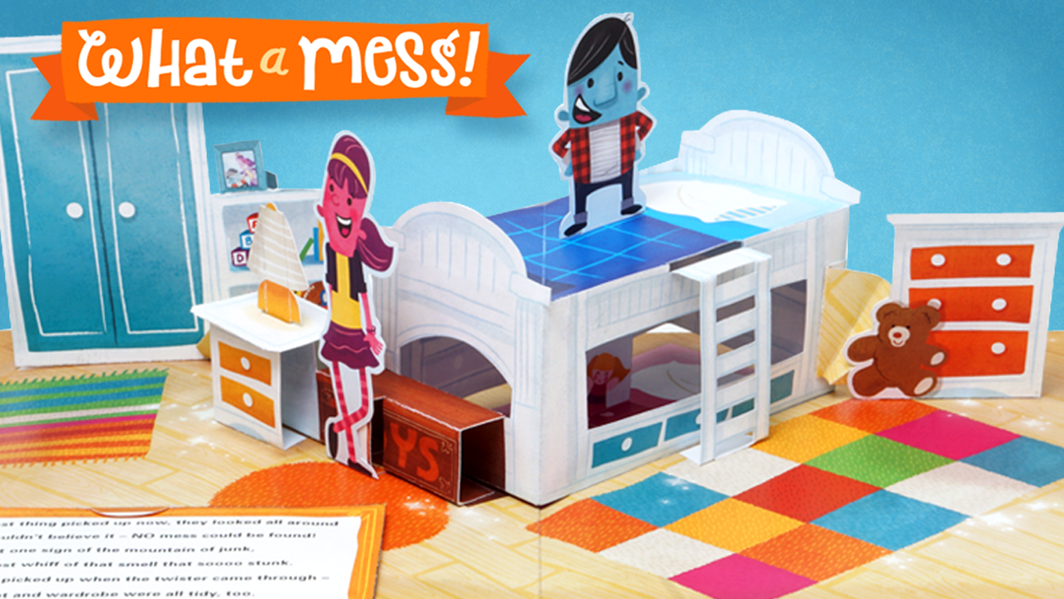 This Beautifully Illustrated Complex Pop Up Book Will Make You Laugh While