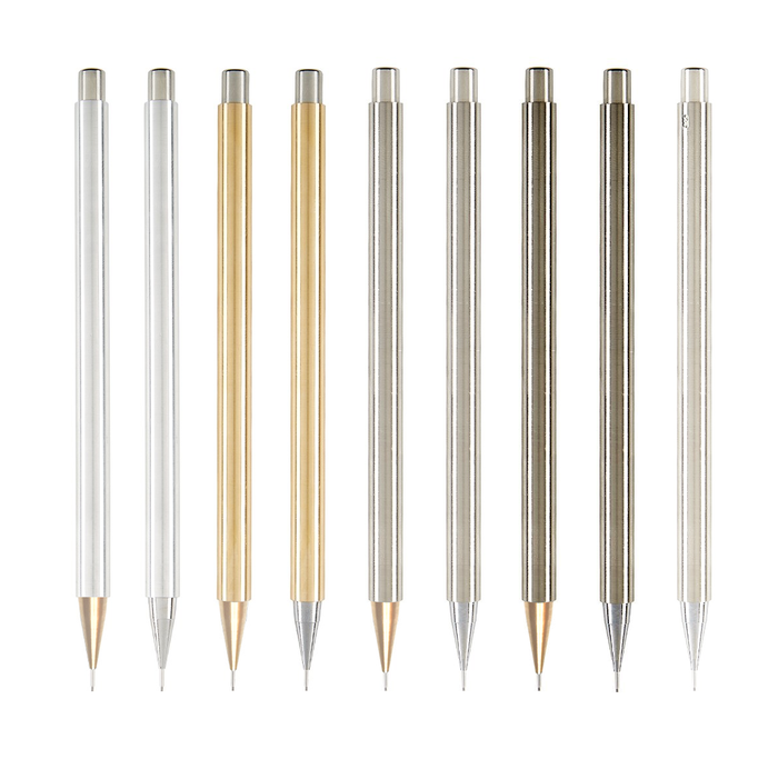 Forget the disposable culture, value your design tools and enjoy the lifelong companionship of a custom-made mechanical alloy pencil. Available at www.nicholashemingway.com