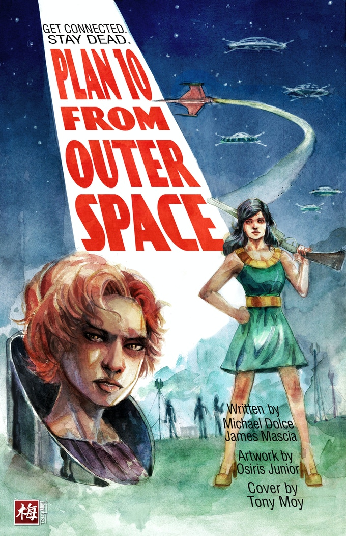Plan 10 from Outer Space Cover 1