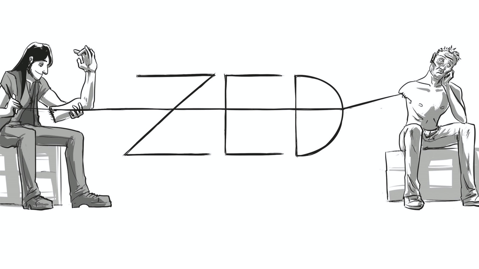 Zed Issue 1 A Buddy Roadtrip Zombie Superhero Comic By Caleb Thusat Kickstarter