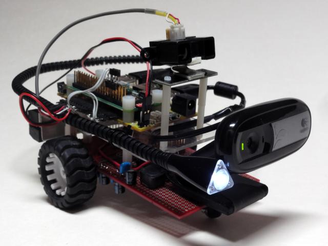 Raspberry Pi Zero & Pi Platter based robot