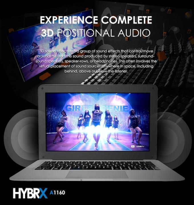 Azpen HYBRX 3D sound