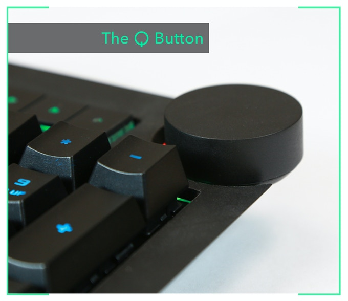 Picture of the Q button prototype
