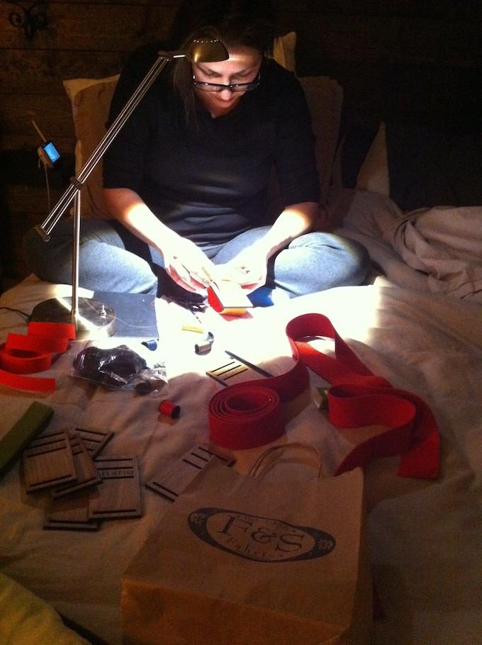 Midnight Sewing Sesh, BUKUL 1.0 (early model prototype)