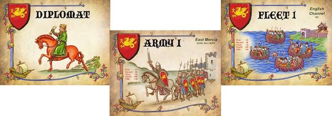 Kingdom of England Cards