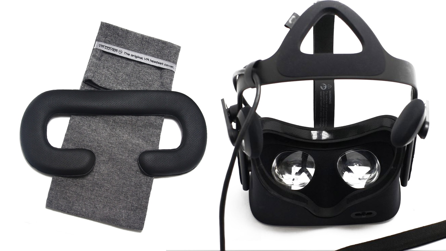 Two new facial interfaces for your Oculus Rift. One for face foam replacements and one that is bigger for using the Rift with eyewear.