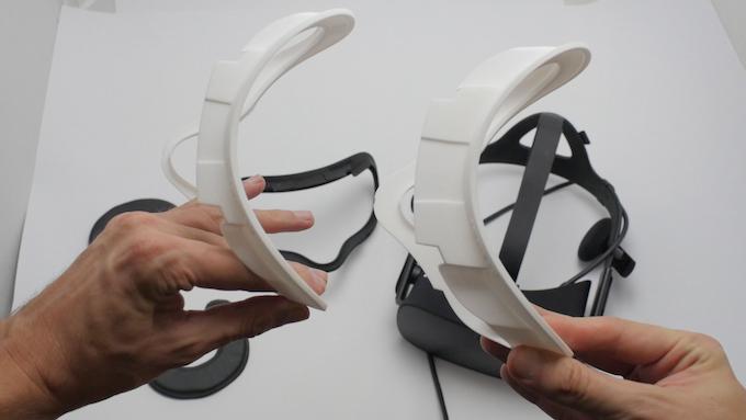 Bigger Oculus Rift Facial Interface