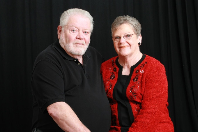 Here is my father, Wayne, with my mother, Betty, months before their 49th wedding anniversary. They made it to 51!