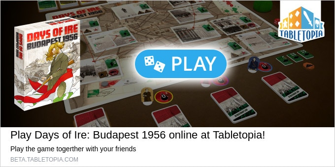 Play Days of Ire NOW on Tabletopia