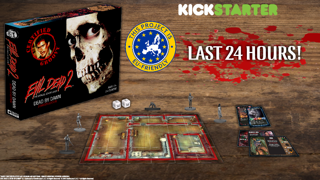 Evil Dead 2: The Official Board Game project video thumbnail