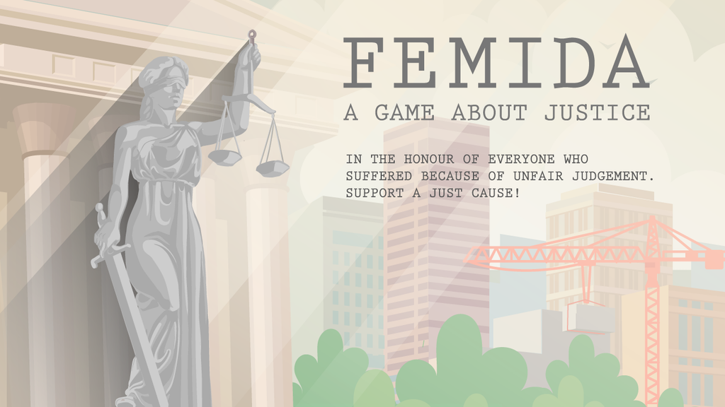 Femida - a nonlinear indie game about justice project video thumbnail