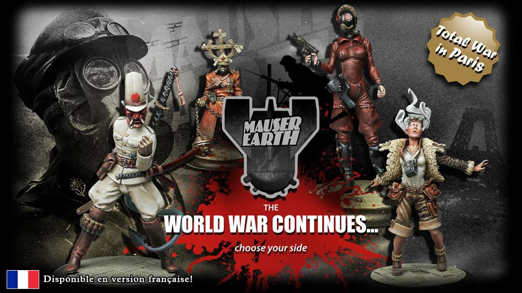 Project image for Mauser Earth, Skirmish game: War for Paris (Canceled)
