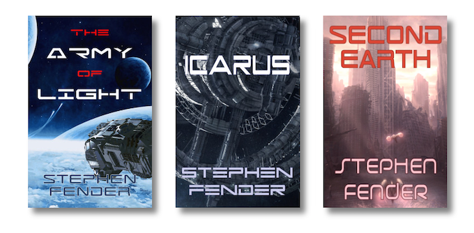 The first three novels in the Kestrel Saga, the series that launched Beta Sector