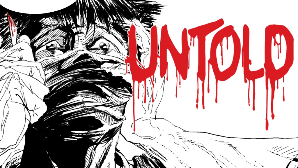The Untold #1 - A Psychological Horror Comic project video thumbnail