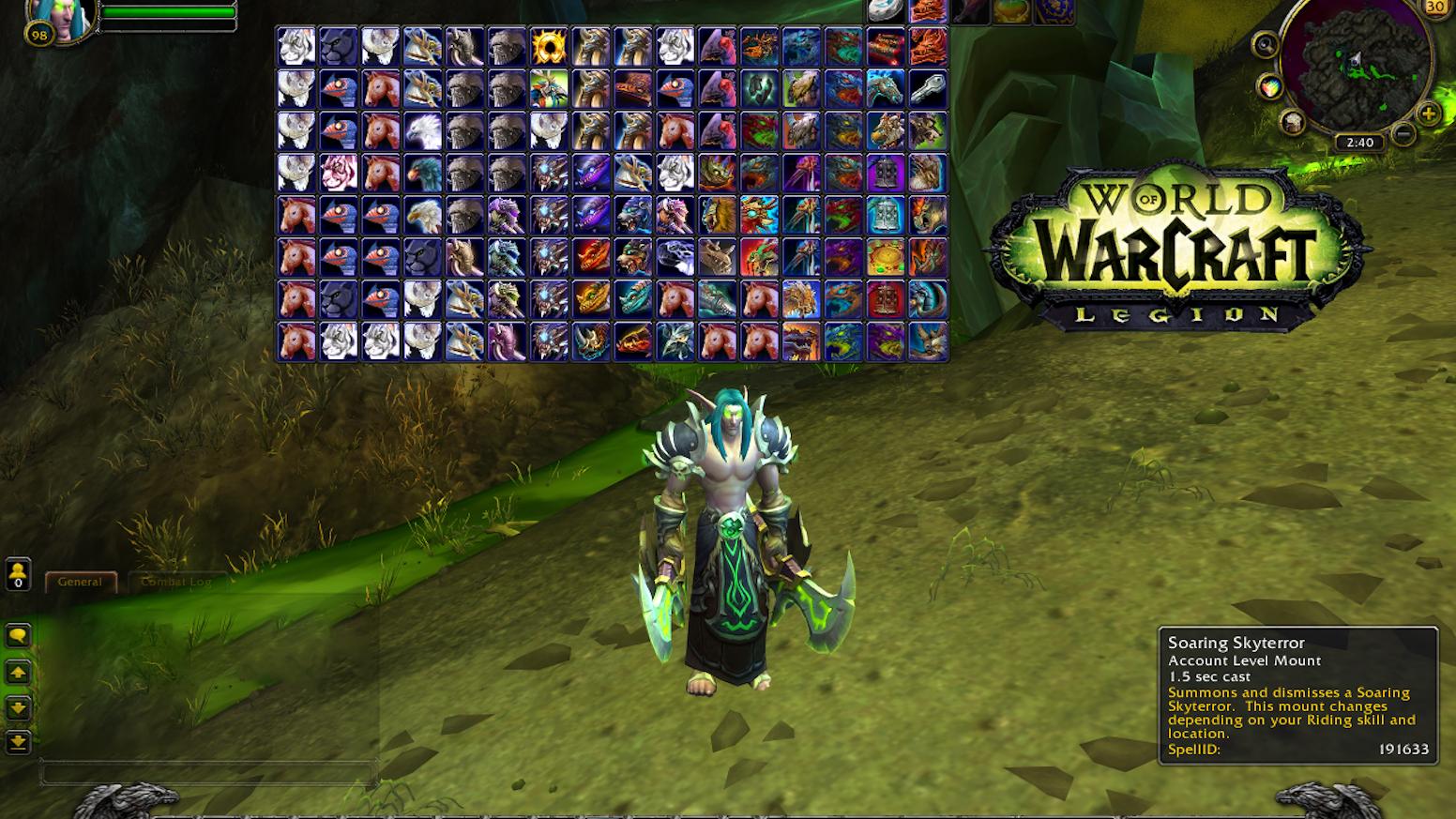 AutoBar: Legion Update (World of Warcraft addon) by Ken Paulson