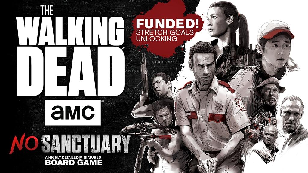 The Walking Dead No Sanctuary miniatura de video del proyecto