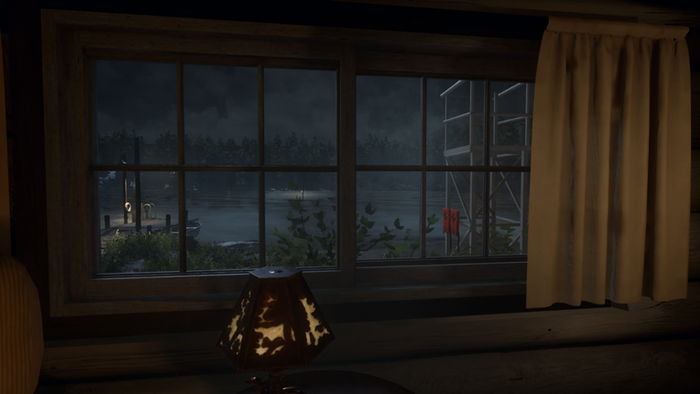 Crystal Lake is pretty spooky at night...
