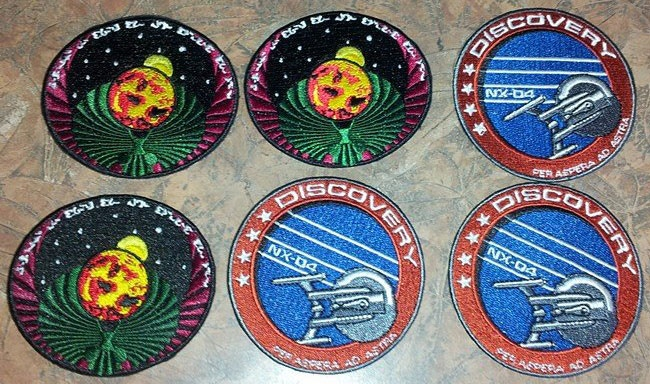 "Patches created for our fan film ""Horizon."""
